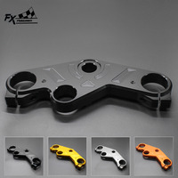 FX CNC Aluminum Motorcycle Front Fork Lowering Triple Tree Front End Upper Top Clamp For Yamaha YZF R25 R3 YZF R3 2014 2016