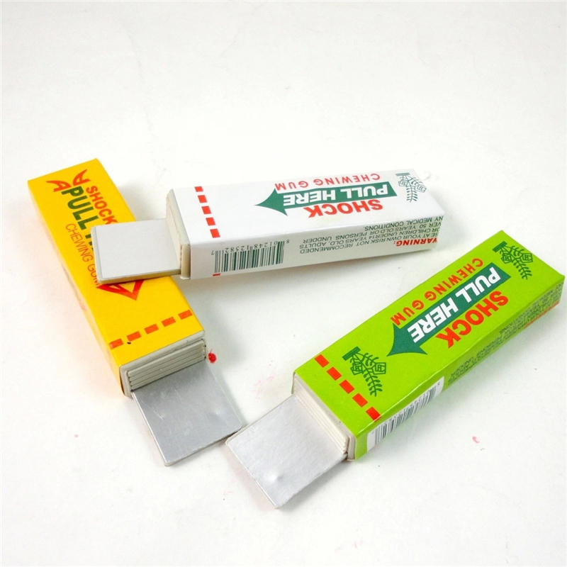 Electric Shocking Hand Chewing Gum Shocker Prank Trick Toy Joke Funny Novelty Toys Anti-stress Shock Gaget Gaps Toys