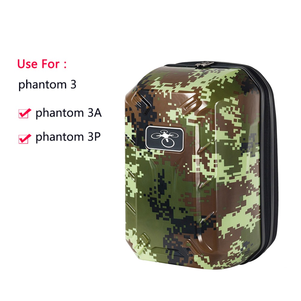 DJI phantom 3 Backpack Hardshell Backpack DJI Drone Shoulder Carry Case for DJI Phantom 3 FPV Drone Backpack rcyago safety shipping travel hardshell case suitcase for dji goggles vr glasses storage bag box for dji spark drone accessories