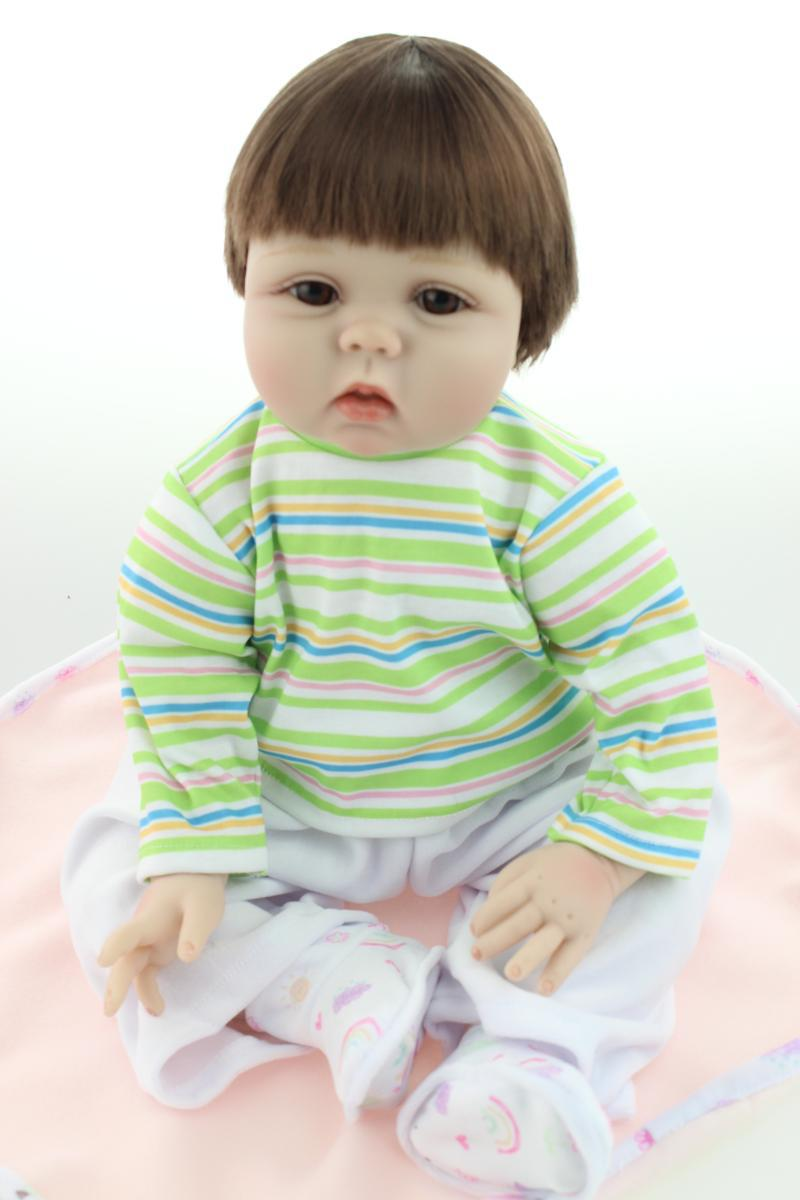 NPK Collection 22 Inch Princess Girl Doll Soft Silicone Lifelike Reborn Babies Handmade Newborn Dolls Kids Birthday Xmas Gift npk collection 22 inch lifelike reborn dolls toys silicone newborn baby girl fashion doll smiling princess xmas gift