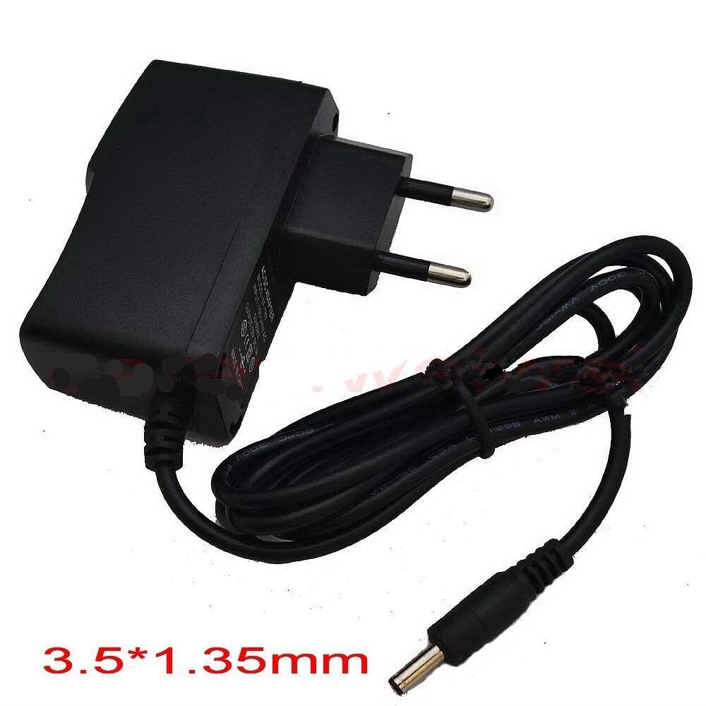 AC DC Зарядное Устройство Адаптер Конвертер Импульсный Блок Питания 5 В 2A 100 В-240 В 3.5 мм * 1.35 мм Для камеры Видеонаблюдения ЕС Plug