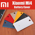 new arrival matte 6 colors anti-skid for xiaomi mi4 m4 battery back cover with mi logo