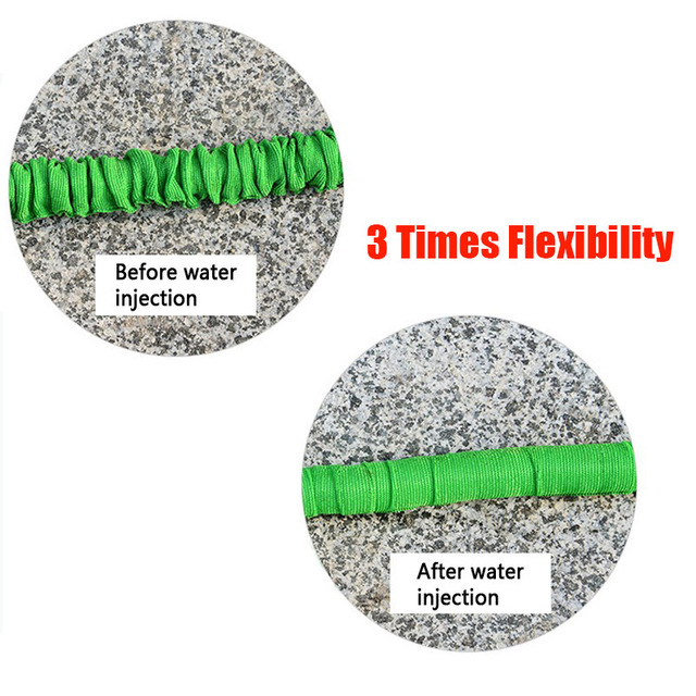 Hot Selling 25FT-200FT Garden Hose Expandable Magic Flexible Water Hose EU Hose Plastic Hoses Pipe with Spray Gun To Watering