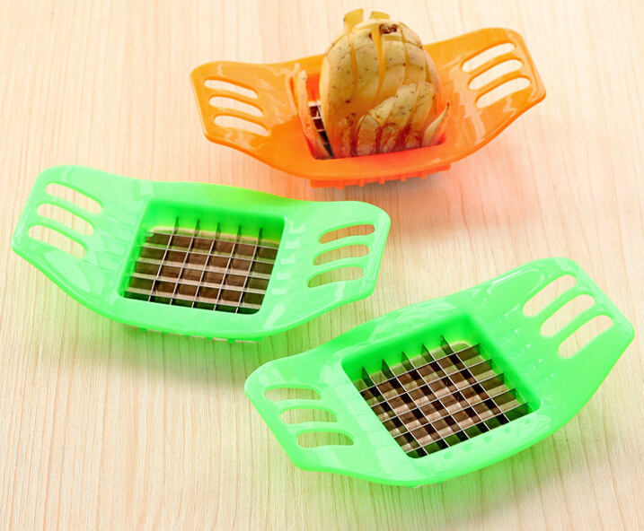 Cooking Tools Stainless Steel Cutter Potato Chips Vegetable Slicer Tools Kitchen Tools Potato Mashers Tools