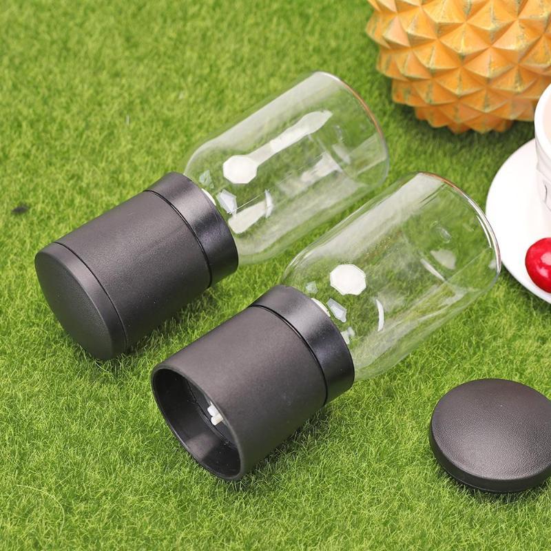 2 шт портативный пластиковый перец сопротивление окислению и облучению мельница для специй ручной приправа шлифовальный станок