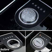 Palanca de Cambios del coche Perilla Cabeza Decoración Car-Styling Para Jaguar XF XJ XE