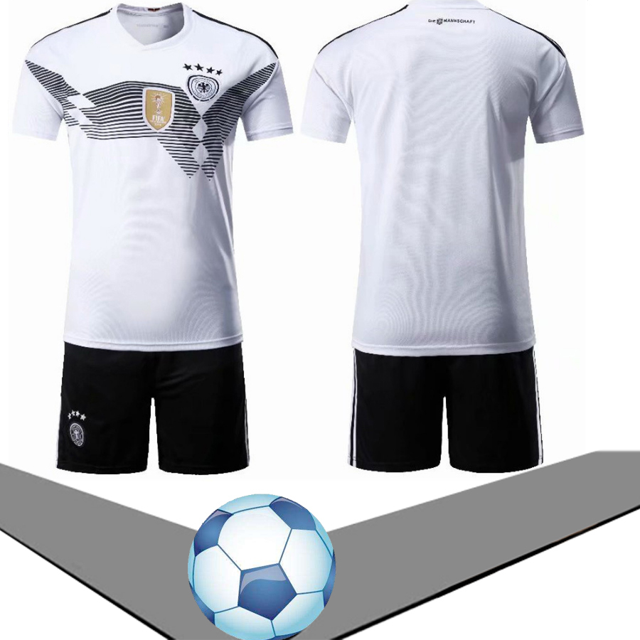 2018 Germany Mesut OZIL 10 Home Away Soccer Kids Jersey & Short Set Youth Ags 4 -10 Years Can Be Printed Logo Number On It
