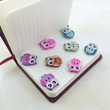 50Pcs Colorful Wooden OWL Buttons Charms 2 Holes Sewing Craft Scrapbooking Cardmaking Hot DIY Home Decor Tools Accessories