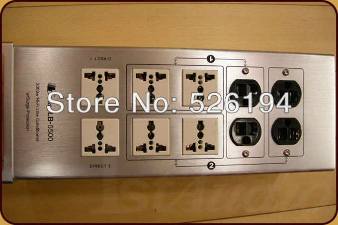 Free shipping Bada LB-5500 Audiophile Power Filter Plant LB5500 New полотенцедержатель fbs esperado esp 045