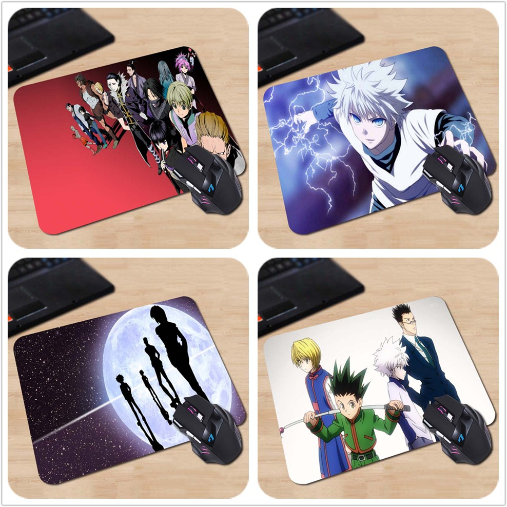 HUNTER x HUNTER Phantom Troupe Kulolo Karuto Feitan Make Your Own Amazing Mouse Pad Customized Computer Notebook Mouse Mat