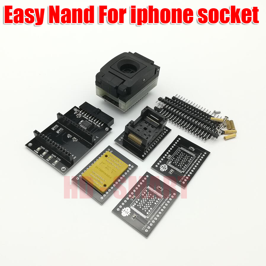 2020 News  EASY JTAG PLUS BOX Easy NAND  For Iphone Socket / Easy-Jtag Plus Nand Kit