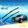 "Escovas Para VW VOLKSWAGEN GOL (2003-2007) Car Windscreen Windshield Wiper Blade 21 ""+ 19"" carros styling acessórios"