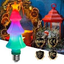 LED Flame Effect Light Bulb E26 Lamp 220V E27 Fire Flickering Emulation Burning Christmas Holiday Decoration