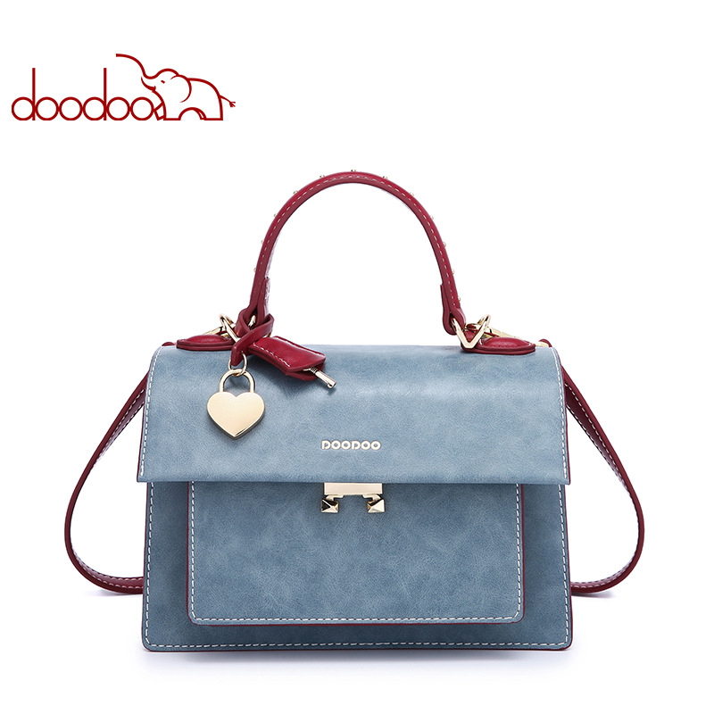 Doodoo Designer Handbags High Quality Leather Bag Women Crossbody Handbag Fashion Women's Bags Handbags Women Famous Brands Pack 2017 bag handbags women famous brands luxury designer handbag high quality pu leather tote handbag ladies women crossbody bags
