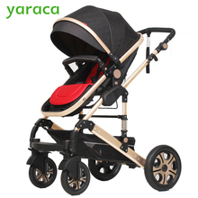 Baby Stroller High Landscape Trolley Baby Car Wheelchair 2 in 1 Prams For Newborns Baby Portable