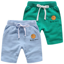 Baby Boys Shorts Summer Childrens Cotton Sports Toddler girl Beach kids shorts Motion Pants Trousers 1-12 Years