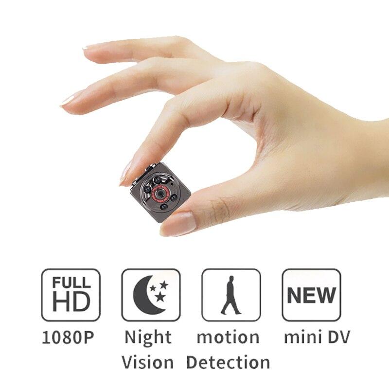 Sq8 1080 p DV DVR Mini Caméra Caméscope SQ8 Micro Cam Détection de Mouvement Avec Infrarouge de Vision Nocturne MINI CAM Soutien cachée TF carte