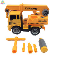 Children Inertial Car Dumper Truck Excavator Tractor Tank Toy For Sale