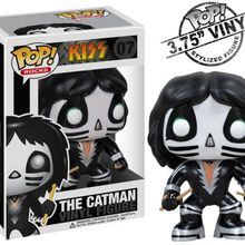 Exclusive Funko pop Official Kiss Band -