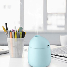 2017 Mini Macaron Cups Home Aroma LED Humidifier Air Diffuser Purifier Atomizer party gift A#487