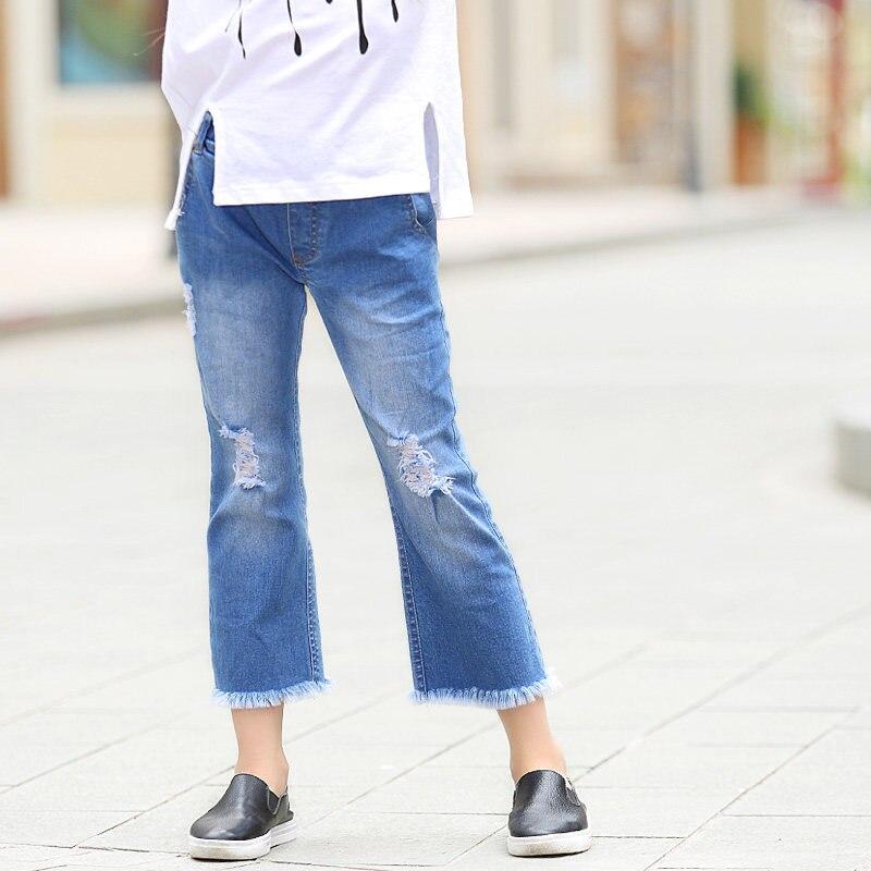 Jeans for Teen Girls Teenages Children s Denim Pants Overalls Be Kids Denim Pants Baby Girls
