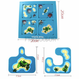 Image 5 - Kids Toys Hide And Seek Pirates Preschool Puzzle Brain Teaser Travel Board Game For Ages 4 Up Featuring 48 Playful Challenges