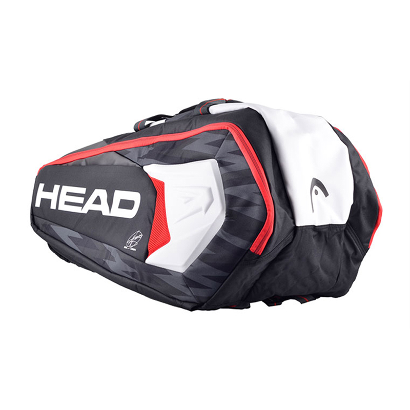 Head Tennis Bag Large Capacity Badminton Backpack Squash Sports Raquete De Tennis With Shoe Bag Can Hold 6-9 Rackets Men Big Bag