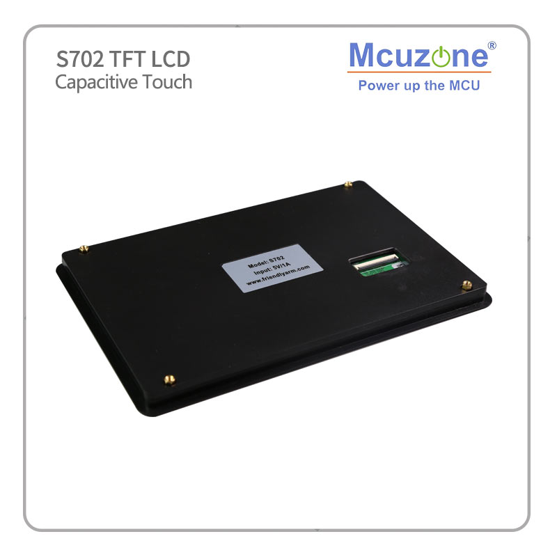 """S702 7"""" TFT LCD 800*480 7 inch Capacitive screen, for Friendlyarm tiny4412 supper4412 tiny210 smart210-in Demo Board Accessories from Computer & Office    3"""