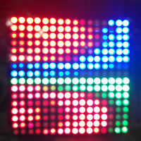 DC5V 16*16 LED Pixel WS2812B led chip RGB Full Color Panel Digital Flexible Individually addressable RGB Light DIY Display Board