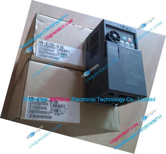 New Original 0.1KW 3 phase 220V inverter FR-E720-0.1K 0.2~400Hz