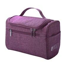Cosmetic bag Double Zipper Women Cosmetic Case Travel Organizer Portable Beautic