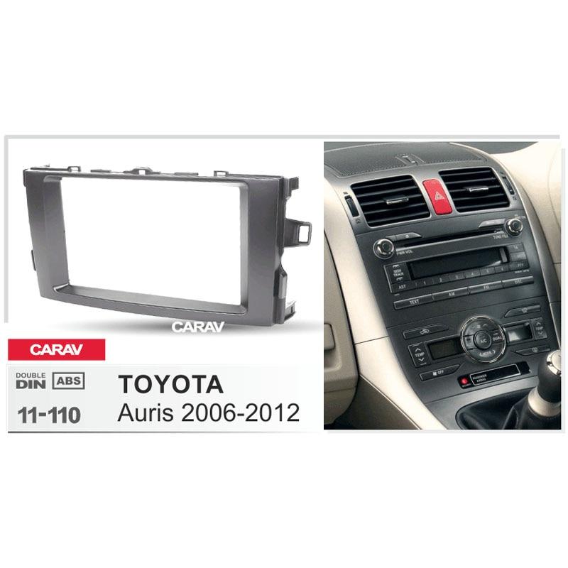Toyota CD Estéreo Radio Doble DIN Kit de Montaje Fascia Facia Adaptador Panel de jaula