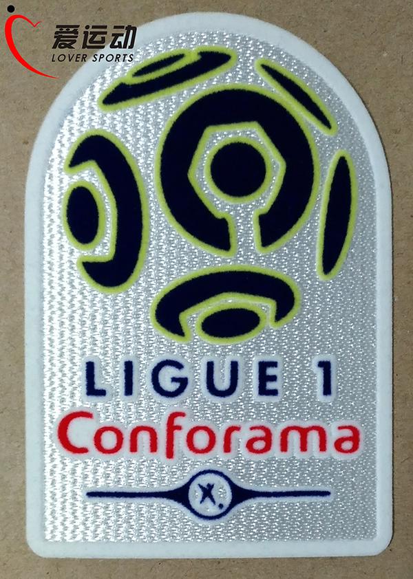 ASSE Patch Bleuet de France Ligue 1 et 2 Flocage OM PSG