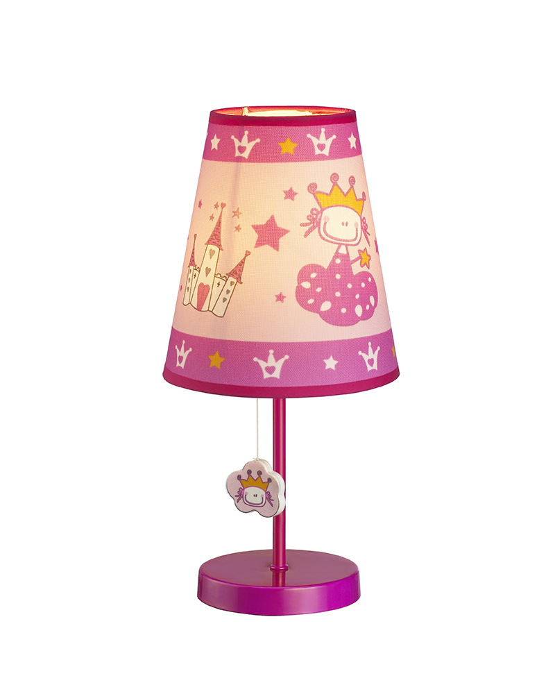 Table Lamps For Kids Us 103 89 Kids Lamps Princess Castle Theme Table Lamp Children Light Bedroom Led Light For Children S Room Free Ship Mt110201c In Table Lamps From