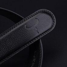 Men's Stylish Genuine Leather Automatic Buckle Belt