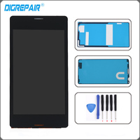 Z3 Compact LCD Black White For Sony Xperia Z3 Compact D5803 D5833 LCD Display Touch Screen