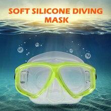 LIXADA 1 шт. силиконовая маска для плавания Анти-туман Дайвинг Маска Для Сноркелинга Подводное стекло с закаленным стеклом объектив оборудование для дайвинга