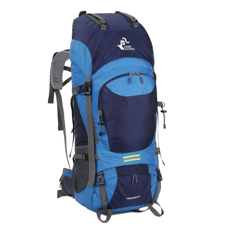 60L Large Outdoor Backpack Outdoor Waterproof Unisex Trekking Rucksack Climbing Hiking Mountaineering Backpack Travel Sport Bags