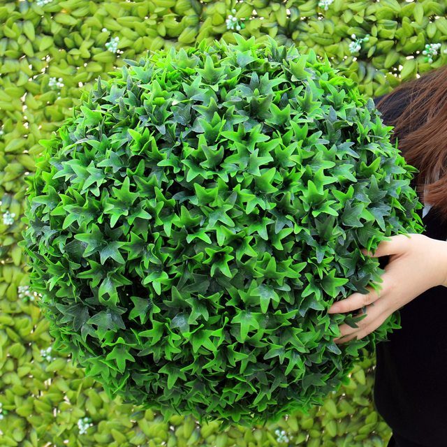 Decorative Boxwood Balls Classy Uland Artificial Boxwood Ball Kissing Grass Decorative Hanging Decorating Inspiration