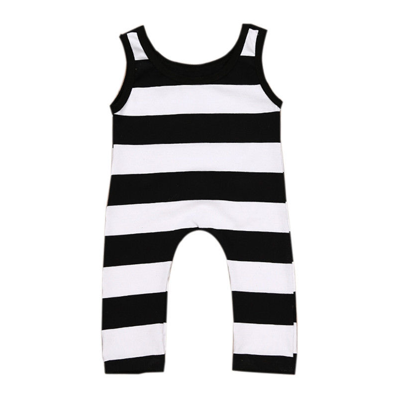 7f6a889c6 Casual Newborn Baby Boys Girls Clothes 2017 New Summer Sleeveless ...