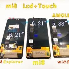 Для xiaomi 8 дисплей AMOLED дисплей mi 8 ЖК-дисплей mi 8 Explorer mi 8 SE ЖК-дисплей 8SE