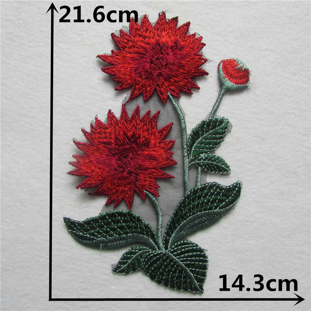 新スタイルクラフトカラーヴニーズスパンコール花刺繍アップリケトリム装飾レースネック襟縫製 1 個販売 YL523