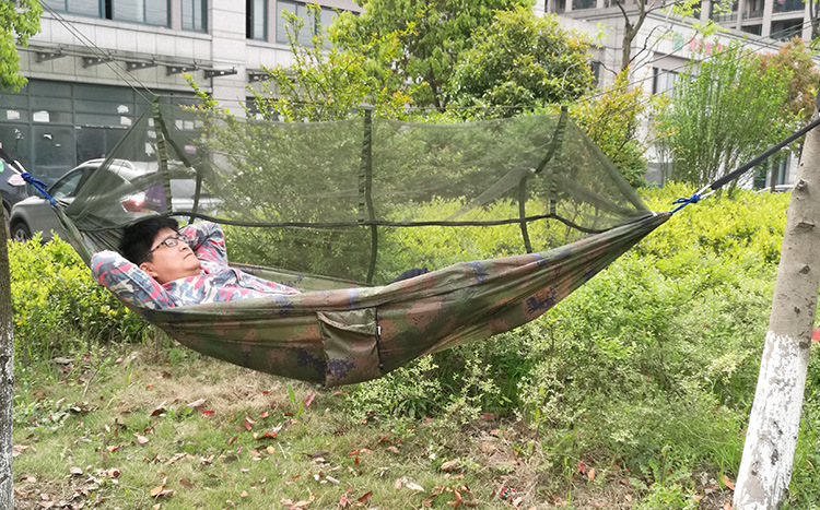 outdoor travel jungle camping tent hammock garden hanging nylon bed and mosquito   in hammocks from furniture on aliexpress     alibaba group outdoor travel jungle camping tent hammock garden hanging nylon      rh   aliexpress