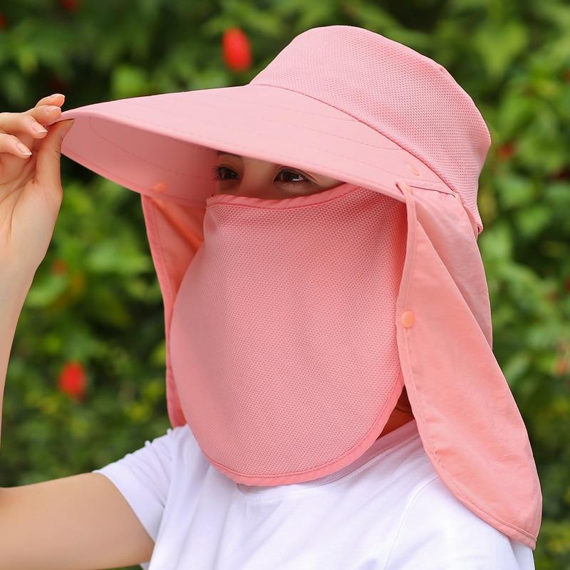 Golf hat Korean version of the summer women's anti-ultraviolet cycling sun hat cover wild riding sunscreen sun hat M (56-58cm)
