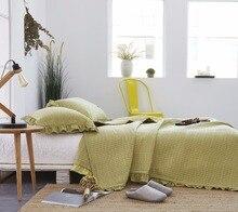 G Craftsman Simple Dream 3Pcs Summer Bedding Set 100 Cotton Stripes Home Textile Bed Quilt Cover