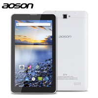 7 android 4 2016 Cheap-Sale 3G Phablet Aoson M707T 7 inch Dual Core MTK8312 Dual Cameras TN Screen Phone Call GPS Bluetooth Android 4.4 MID (1)