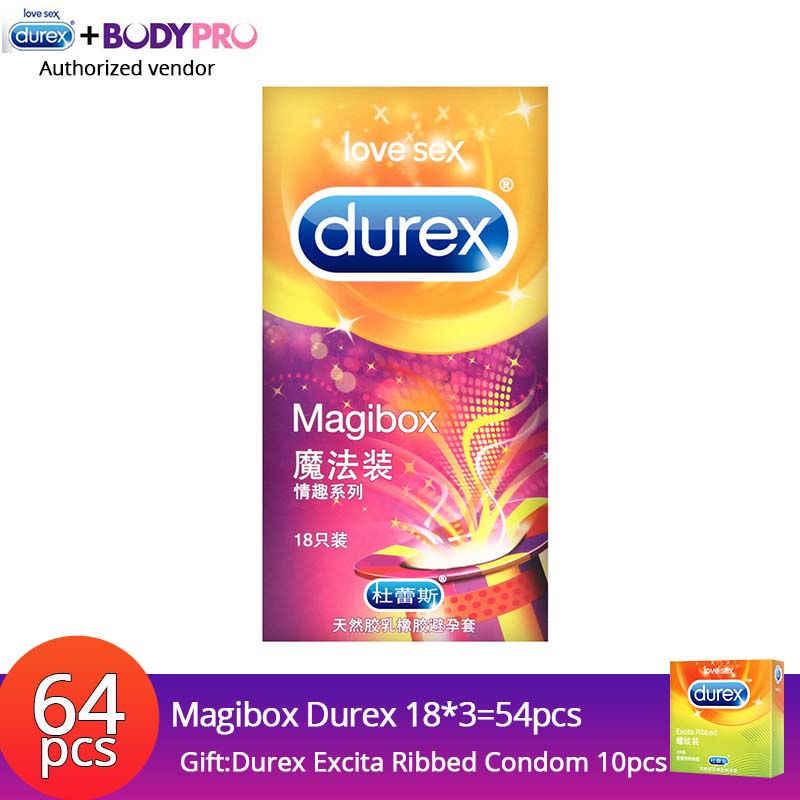 Презервативы Durex Magibox презервативы Pleasuremax теплый Tingle натуральный латекс XXL ребристые кондоны с смазкой пенис рукав для мужчин задержка