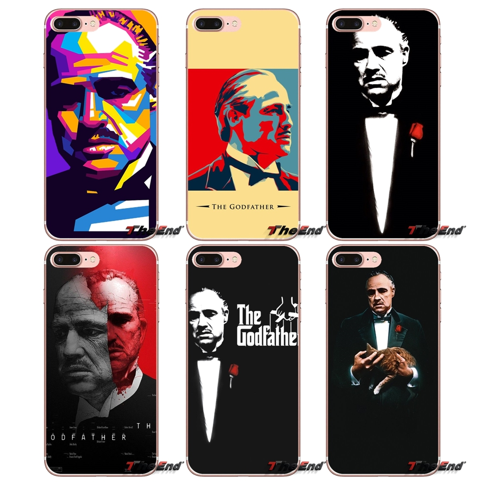 GODFATHER GOD FATHER Soft Transparent Cases Covers For Huawei Honor 5A LYO-L21 Y6 II Compact Y5 2 Y5II Mate 10 Lite Nova 2i 9i