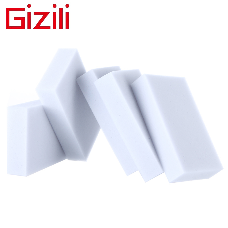GIZILI 200pcs/lot Gray Magic Nano Melamine Sponge Eraser Cleaner <font><b>dishwashers</b></font> limpieza multi clean kitchen accesspry 10*6*2 cm