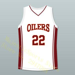 e2beaa14270 Coach Timo Cruz 22 Richmond Oilers Away Basketball Jersey